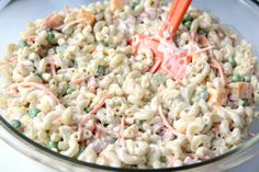 The Best Summertime BBQ Recipes - familyfreshmeals.com -  Ranch Pasta Salad - FamilyFreshMeals.com_