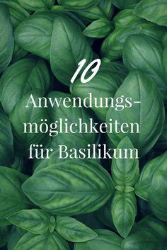 Basilikum: 10 Anwendungsmöglichkeiten für das aromatische Kraut - New Ideas Apple Benefits, Health Benefits, Self Watering Planter, This Little Piggy, Garden Care, Medicinal Herbs, Beauty Recipe, Growing Vegetables, Wine Recipes