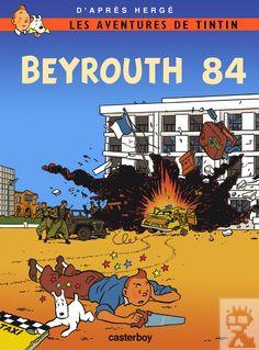 Les Aventures de Tintin - Album Imaginaire - Beyrouth 84