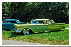 "Custom 1959 Ford Galaxie 500 ""Lime Ice"" 