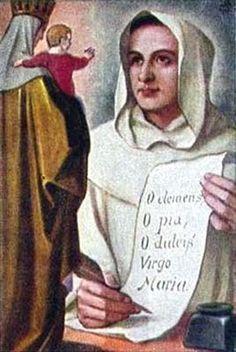 ¡Oh, Clemente! ¡Oh, Pía! ¡Oh, dulce Virgen María! (San Bernardo).