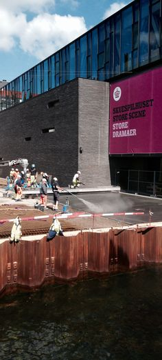 Cast Concrete Paving Kvæsthusprojektet by Lundgaard & Tranberg Architects and Julie Kierkegaard landscape Architects