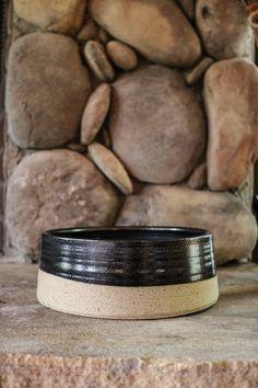 Midnight Sands Ceramic Dog Bowl You can find Sands and more on our website. Ceramic Dog Bowl, Ceramic Clay, Ceramic Pottery, Pottery Bowls, Japanese Ceramics, Modern Ceramics, Earthenware, Stoneware, Pottery Videos