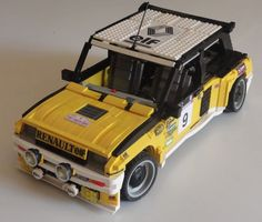 Nope, not an annoyingly generic 4-wide Lego creation, but Renault's remarkable early '80s R5 Turbo. Downsized turbocharged engines are all the rage now, but Renault had the formula nailed more than...