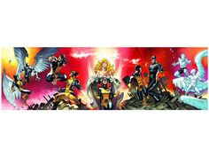 "X-Men First To Last 118"" x 25"" Poster by Paco Medina - Marvel Comic Products Posters & Other"