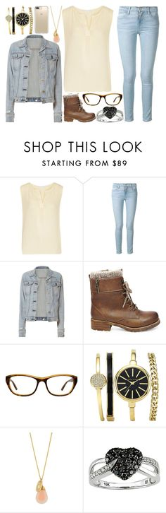 """Untitled #1652"" by believe-dream-inspire ❤ liked on Polyvore featuring Kain, Frame, rag & bone, Steve Madden, Ice and Speck"
