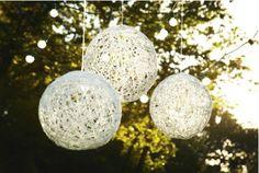 DIY project - I'm loving these fun lanterns!