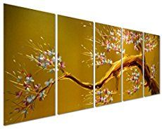 Metal Flower Wall Art - Decorate with Metal Wall Art  Floral aluminum metal wall art also known as floral metal wall art is a beautiful way to decorate your home.  You can get all kinds of unique, pretty and cool home decorating ideas by combining metal, glass, leather and cloth to really make your home multi dimensional and full of life.
