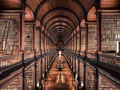 [1440x1080] Trinity College Library Dublin (x-post r/geometryisneat)
