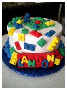 Lego Cake. Another relatively simple idea. Looks like fun!