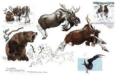 Moose design for Brother Bear