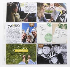 Today I& sharing a look at my Project Life® 2017 Week Seventeen spread. Project Life, Scrapbooking Layouts, Digital Scrapbooking, Life 2016, Ali Edwards, Life Inspiration, Happy Friday, Seventeen, Storytelling