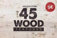 45 Wood Textures | $5 by Pere Esquerrà on @creativemarket