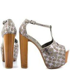 Jessica Simpson Dany Platforms - $75