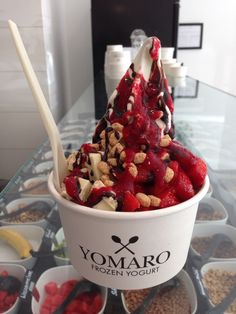 YOMARO Frozen Yogurt made in Düsseldorf