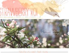Web Design: Strawberry Koi