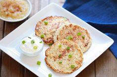 Hungry Girl's Cauliflower Latkes - 5p+ / 3 (1/2 of recipe)