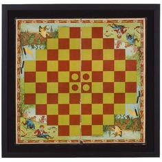 The Game Of Turn-over, 1898 Game Board