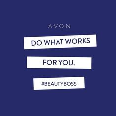 Joining as an Avon Representative gives you the flexibility to determine your own hours and run your beauty biz as it fits your lifestyle.  Sign up online now: https://www.youravon.com/becomeARep?p=MBBaR&c=MB_Pinterest&s=MBBaR&shopURL=edavis4313&utm_source=MB_Pinterest