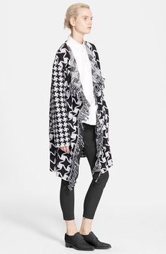 Stella McCartney Checkered Blanket Wool Coat available at #Nordstrom
