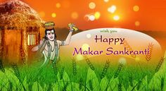 With Great Devotion, Fervor and Gaiety, With Rays of Joy and Hope, Wish You and Your Family, #HappyMakarSankranti!