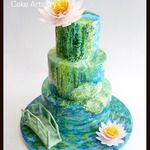 Wedding Cakes - Gallery - Dreme Cake Artistry - Custom cakes, cupcakes, cookies and more!