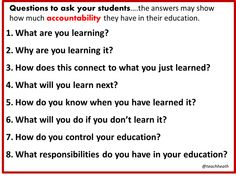 How would YOUR students answer these questions??? (see pic)