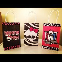 candy bags monster high