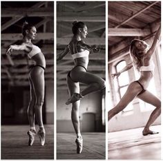 That's some major fitspiration! Candice Swanepoel ballet and dancing shots - beautiful