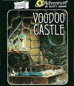 WEBSTA @favoritevideogamessince71 Voodoo Castle (1979 Computer Game By Scott Adams). This is adventure
