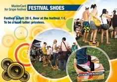 MasterCard festival shoes