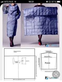 Amazing Sewing Patterns Clone Your Clothes Ideas. Enchanting Sewing Patterns Clone Your Clothes Ideas. Sewing Dress, Dress Sewing Patterns, Sewing Clothes, Clothing Patterns, Blanket Coat, Make Your Own Clothes, Coat Patterns, Diy Clothing, Sewing Techniques