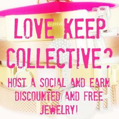 Host a Keep Collective social! #personalized https://www.keep-collective.com/with/leahaves