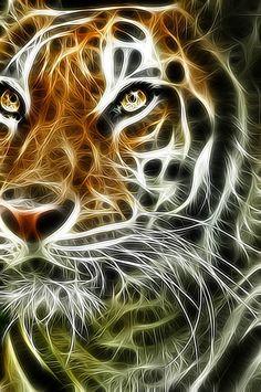 Tiger https://www.pinterest.com/Yaninavalos/fractales/                                                                                                                                                      Más