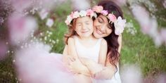 Fall mommy and me flower crowns, matching crowns, sister flower crowns, floral crowns, boho baby flo Mother Daughter Photos, Mother Daughter Photography, Baby Girl Photography, Mom Daughter, Mother And Child, Wedding Photography, Mother Daughters, Photography Ideas, Photography Flowers