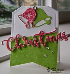 Just Me: c: Guest Designer for Day 1 of 25 Days of Christmas Tags, Addicted to Cas #51~Tag, Tag, You're It #9