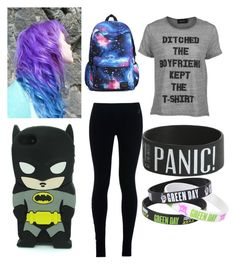 """school outfit"" by ptv-bvb-sws-fir-nsn-botdf-bmth ❤ liked on Polyvore featuring MINKPINK and NIKE"