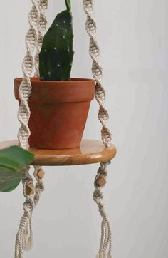 cute wall shlef #macrameplanthanger #macramelove #macramemaker #macramesupply #hangingplanter #simplemacrame #handmade #etsyfinds #etsy #macramewallhanging #bohodecor #modernmacrame #ropeplanthanger #crochetplanthanger #spiralmacrame #decorativeplanter #houseplants #plantlovergifts #giftsforher #macramehanger #verticalplanthanger #gardening #verticalgardening #macrameideas #macrameprojects #wallplanter #crafts #highceilingplanter #longhangingplanter #largeplanthanger #housewarming # Crochet Plant Hanger, Rope Plant Hanger, Macrame Plant Hangers, Decorative Planters, Hanging Planters, Planter Pots, Macrame Supplies, Macrame Projects, Plant Shelves