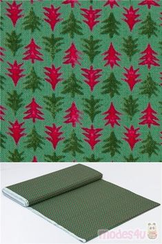 Lasenby Cotton, festive pattern for quilting, Festive Firs, Merry and Bright Collection #Cotton #Flower #Leaf #Plants #Trees #Christmas #FabricsFromTheUK Miniature Trees, Liberty Fabric, Christmas Fabric, Green Trees, Green Fabric, Merry And Bright, Green Cotton, Fabric Patterns