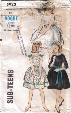 Girl's Tween's Dress and Blouse Sewing by stitchingbynumbers