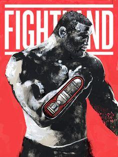 Conheça Gian Galang, o artista que transforma astros do UFC em incríveis ilustrações (Foto: Dan Henderson (Hendo)/UFC)