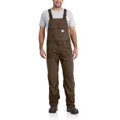 FORCE Extremes Bib Overalls - The Brown Duck