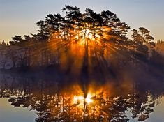 Утро, рассвет, восход солнца картинки, фото, видео