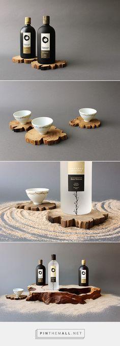 Honkaku Shochu Sake Packaging by Ya-Chin Kate Chuang