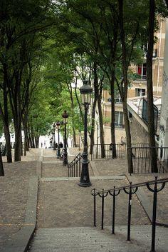 Montmartre ~ Paris.  Loved this district of Paris.