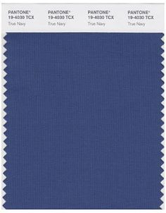 Pantone True Navy, linen inspo. Perhaps lighter shade of blue for napkin.