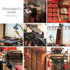 Letterpress: imprimir como en el 1.900. Starshaped Press Studio