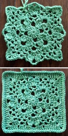 One Love: A free pattern for Granny Square Day