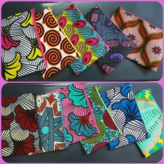 African Print Fashion, Fashion Prints, Edges Hair, African Crafts, African Accessories, Handmade Cosmetics, Crafts To Make And Sell, African Fabric, Clutches
