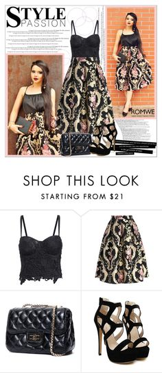 """""""ROMWE I/6."""" by adanes ❤ liked on Polyvore featuring women's clothing, women, female, woman, misses, juniors, romwe and polyvoreeditorial"""
